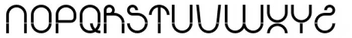 Arcron Font UPPERCASE