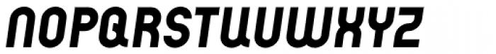Arcus ExtraBold Italic Font UPPERCASE