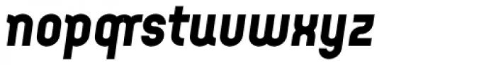 Arcus ExtraBold Italic Font LOWERCASE