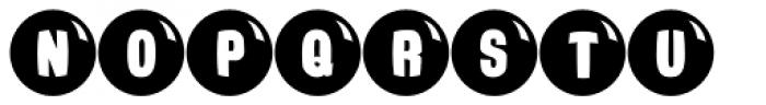 Ardball JNL Font UPPERCASE