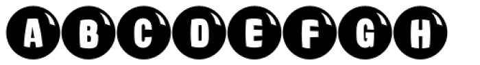 Ardball JNL Font LOWERCASE