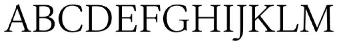 Ardentia Light Font UPPERCASE