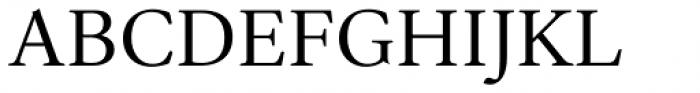 Ardentia Regular Font UPPERCASE