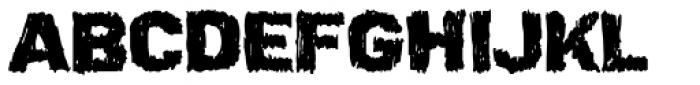 Ardy Mass Font UPPERCASE