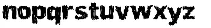 Ardy Mass Font LOWERCASE