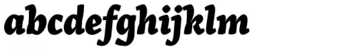 Arek Armenian ExtraBold Italic Font LOWERCASE
