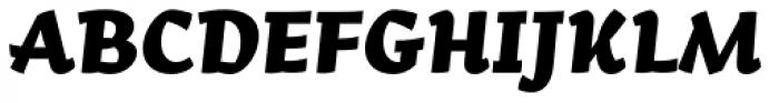 Arek Latin ExtraBold Italic Font UPPERCASE