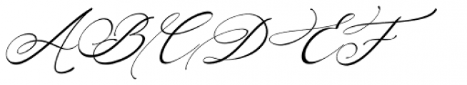 Arellia Italic Font UPPERCASE