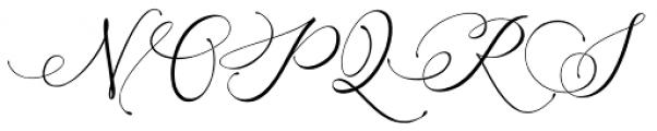 Arellia Regular Font UPPERCASE