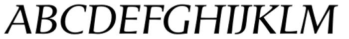 Areplos Book Pro Italic Font UPPERCASE