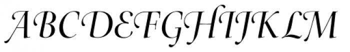 Arepo Italic Swash Font UPPERCASE