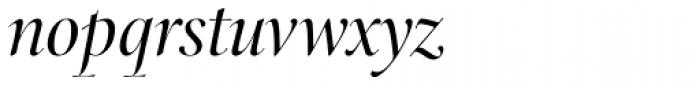 Arepo Italic Swash Font LOWERCASE