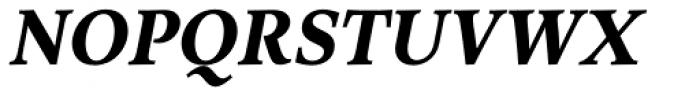 Arethusa Bold Italic Font UPPERCASE