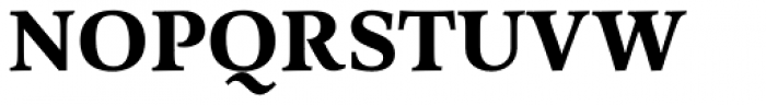 Arethusa Bold Font UPPERCASE