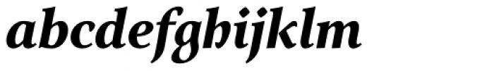 Arethusa Pro Bold Italic Font LOWERCASE