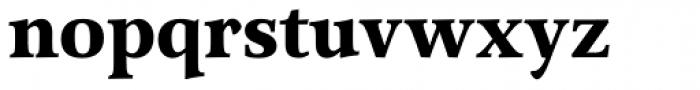 Arethusa Pro Bold Font LOWERCASE