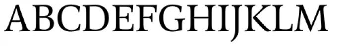 Arethusa Pro Book Font UPPERCASE