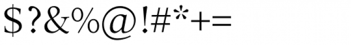 Arethusa Pro Light Font OTHER CHARS