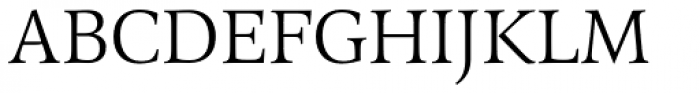 Arethusa Pro Light Font UPPERCASE