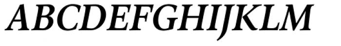 Arethusa Pro Medium Italic Font UPPERCASE