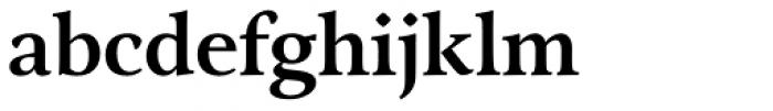 Arethusa Pro Medium Font LOWERCASE