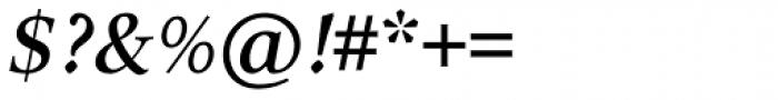 Arethusa Pro Regular Italic Font OTHER CHARS