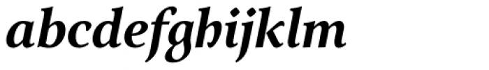 Arethusa Pro Semi Bold Italic Font LOWERCASE