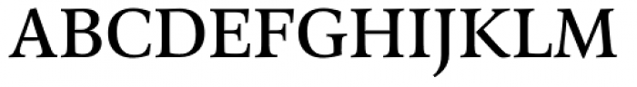 Arethusa Regular Font UPPERCASE