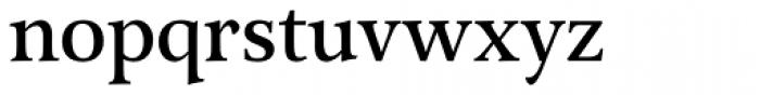 Arethusa Regular Font LOWERCASE