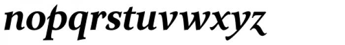Arethusa Semi Bold Italic Font LOWERCASE