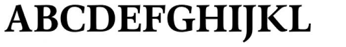 Arethusa Semi Bold Font UPPERCASE