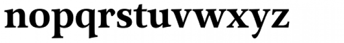 Arethusa Semi Bold Font LOWERCASE