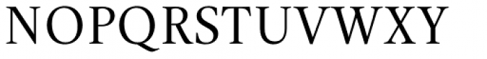 Aretino Font UPPERCASE