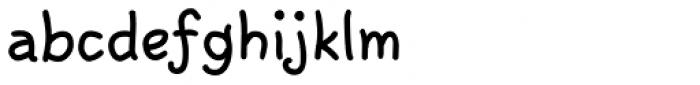 Argenta Bold Font LOWERCASE