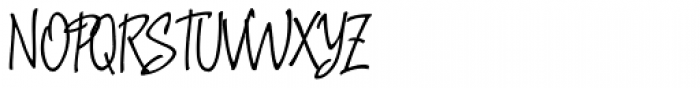Argenta Regular Font UPPERCASE