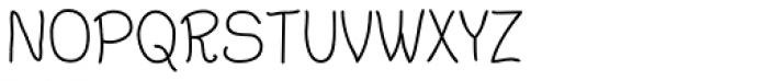 Argenta Font UPPERCASE