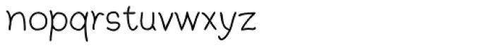 Argenta Font LOWERCASE