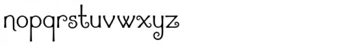 Argentile Font LOWERCASE