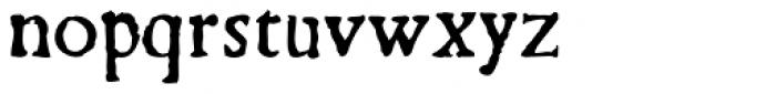Argento Font LOWERCASE