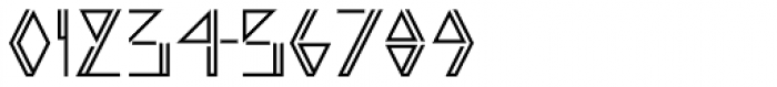 Argonautica Outlined Closed D Font OTHER CHARS