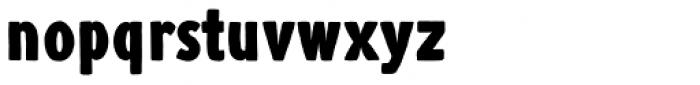 Argone LC Black Font LOWERCASE