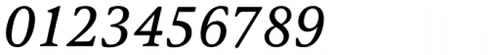 Argos Italic Font OTHER CHARS