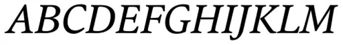 Argos Italic Font UPPERCASE