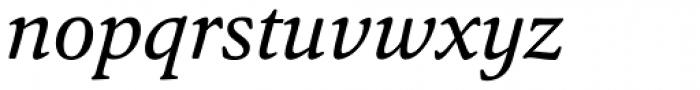 Argos Italic Font LOWERCASE