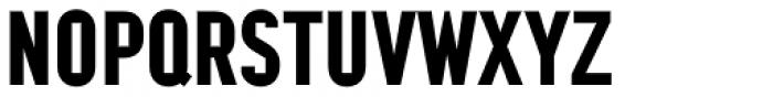 Argot Narrow Bold Font UPPERCASE
