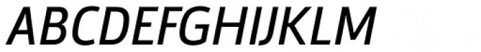Argumentum Italic Font UPPERCASE