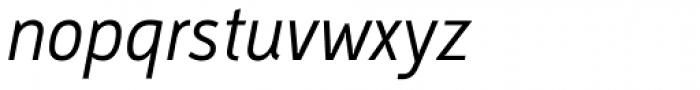 Argumentum Light Italic Font LOWERCASE