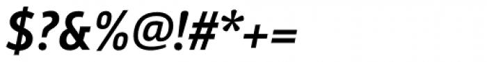 Argumentum Medium Italic Font OTHER CHARS
