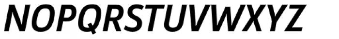 Argumentum Medium Italic Font UPPERCASE