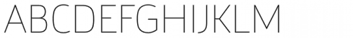 Argumentum Thin Font UPPERCASE